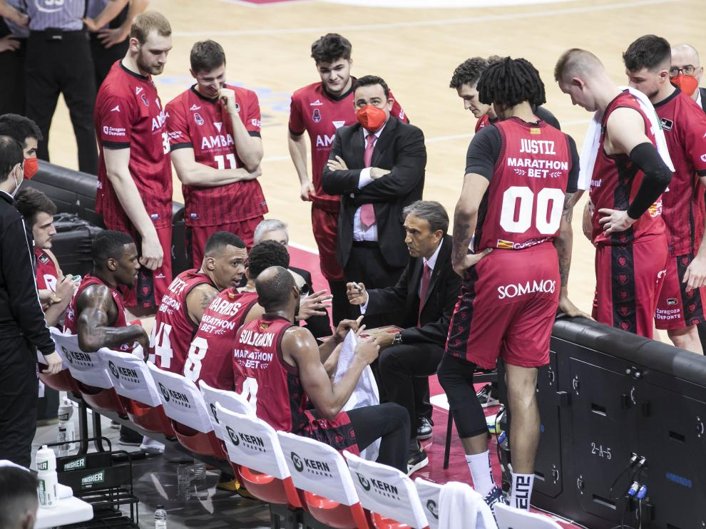 Foto partido Casademont Zaragoza-Morabanc Andorra, Liga Endesa