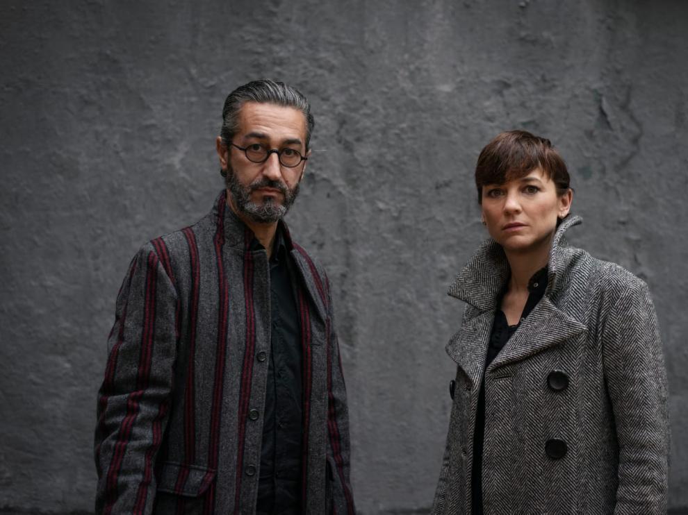 Leonor Watling y Alejandro Pelayo, integrantes del dúo Marlango, aterrizan con su Gira Delicatessen en el Auditorio de Zaragoza.