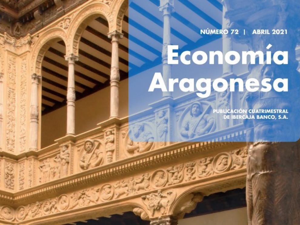 Portada de la revista Economía Aragonesa de Ibercaja.