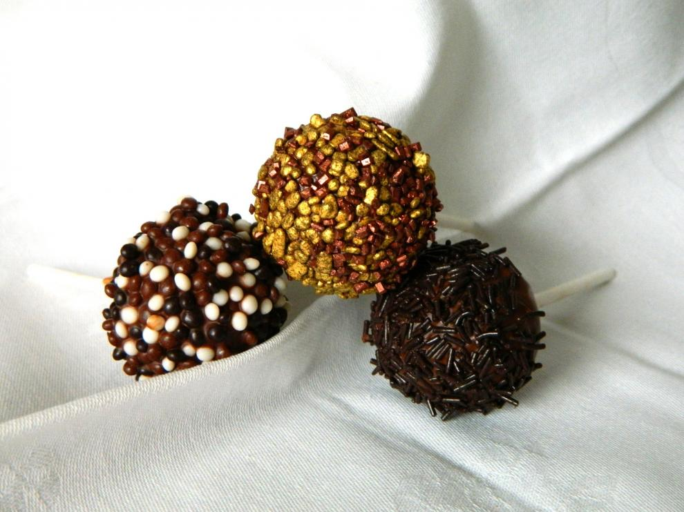 Originarios de la repostería americana, los 'cake pops' han ganado popularidad en el mundo.