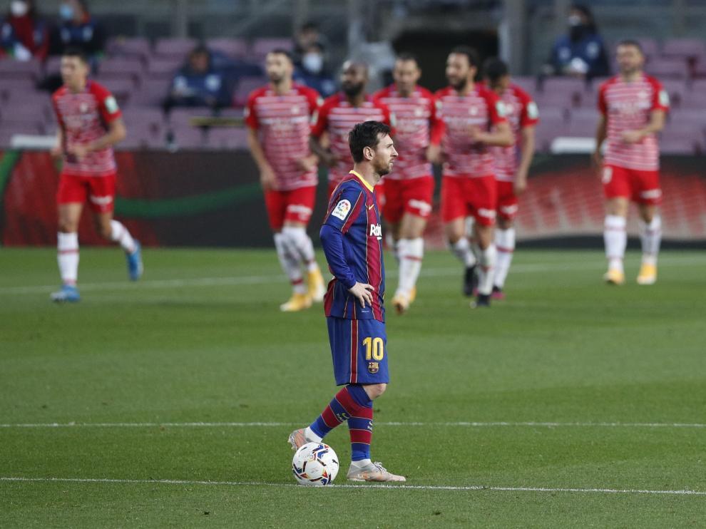Foto del partido FC Barcelona-Granada: Messi