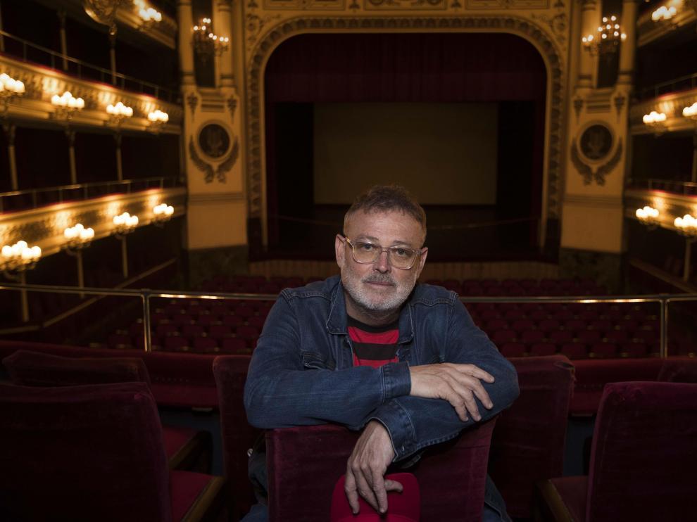 Pablo Carbonell, en el Teatro Principal.