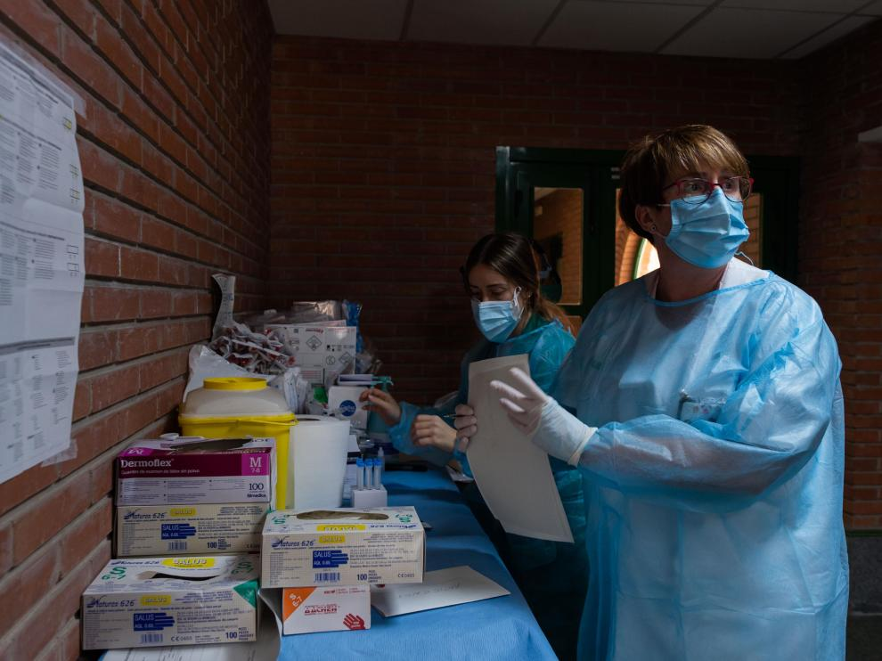 Tauste ha registrado más de 200 casos de coronavirus en lo que va de mes.