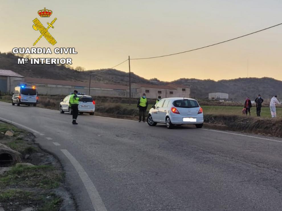 Accidente de tráfico en Teruel
