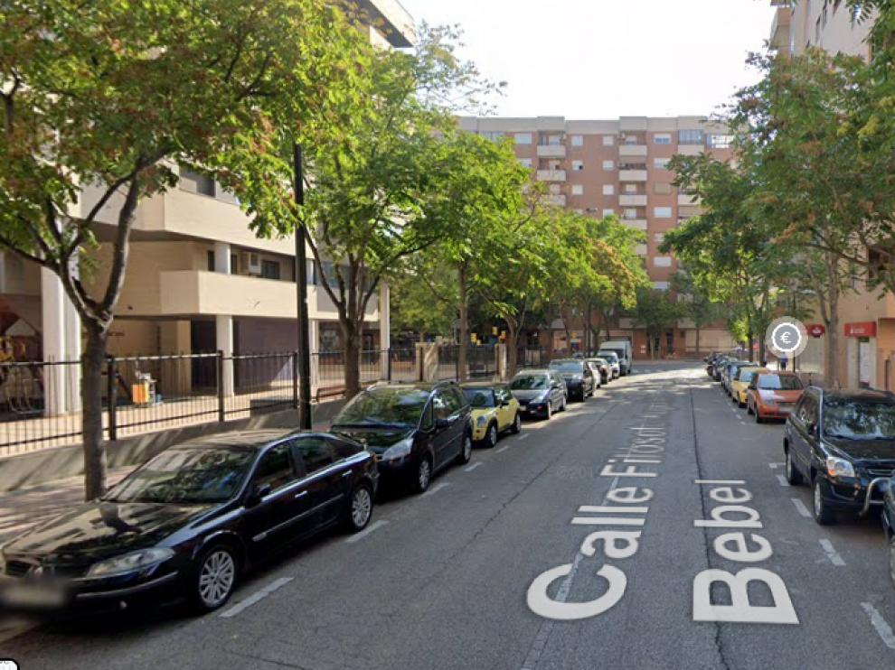 Calle Augusto Babel, donde se produjo una de las agresiones