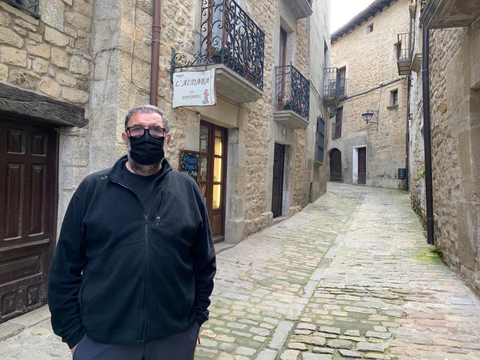 Felipe Díaz, presidente de la Asociación de Empresarios Turísticos de Sos del Rey Católico