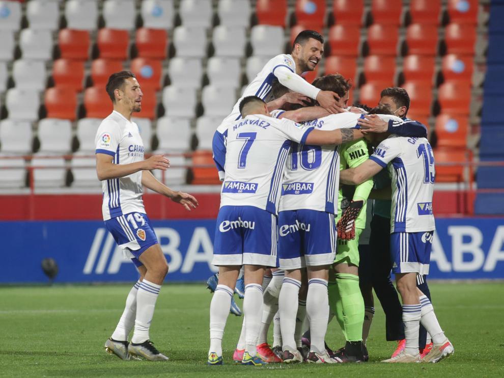 Foto del partido Lugo-Real Zaragoza, jornada 37 de Segunda División