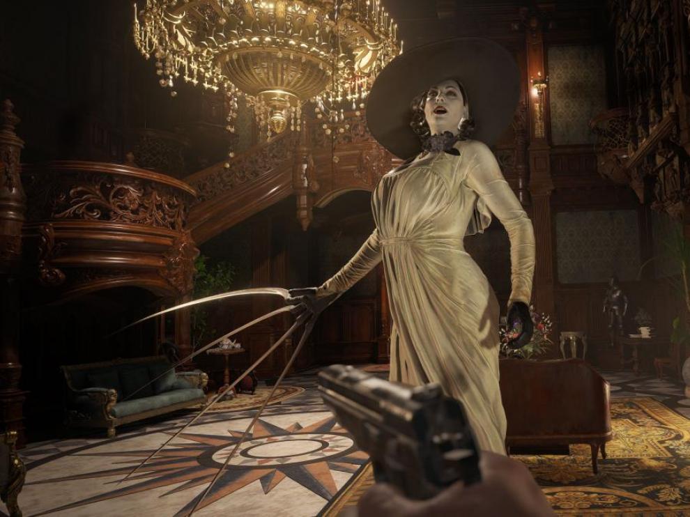 Un fotograma de 'Resident Evil: village'.
