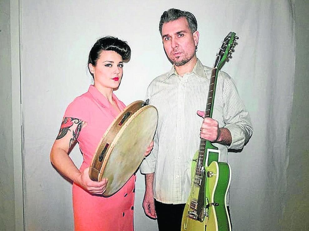 Leticia Baselgas y a Rubén Bada forman el dúo L-R.
