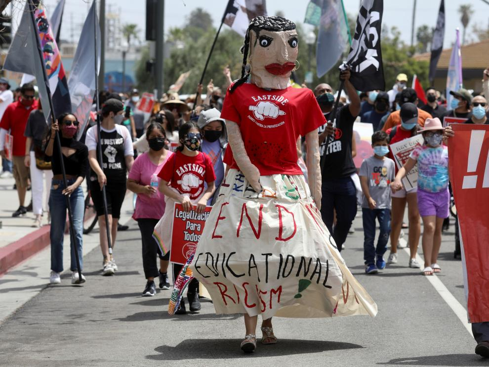 May Day in Los Angeles