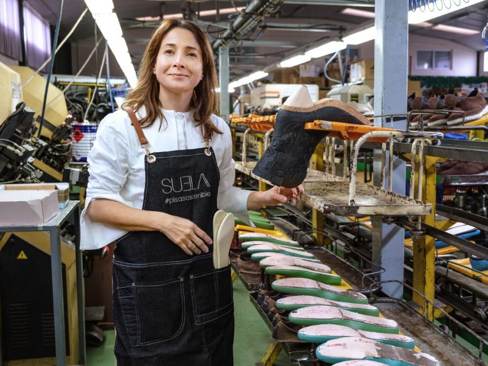 Paula del Río, de calzados Suela