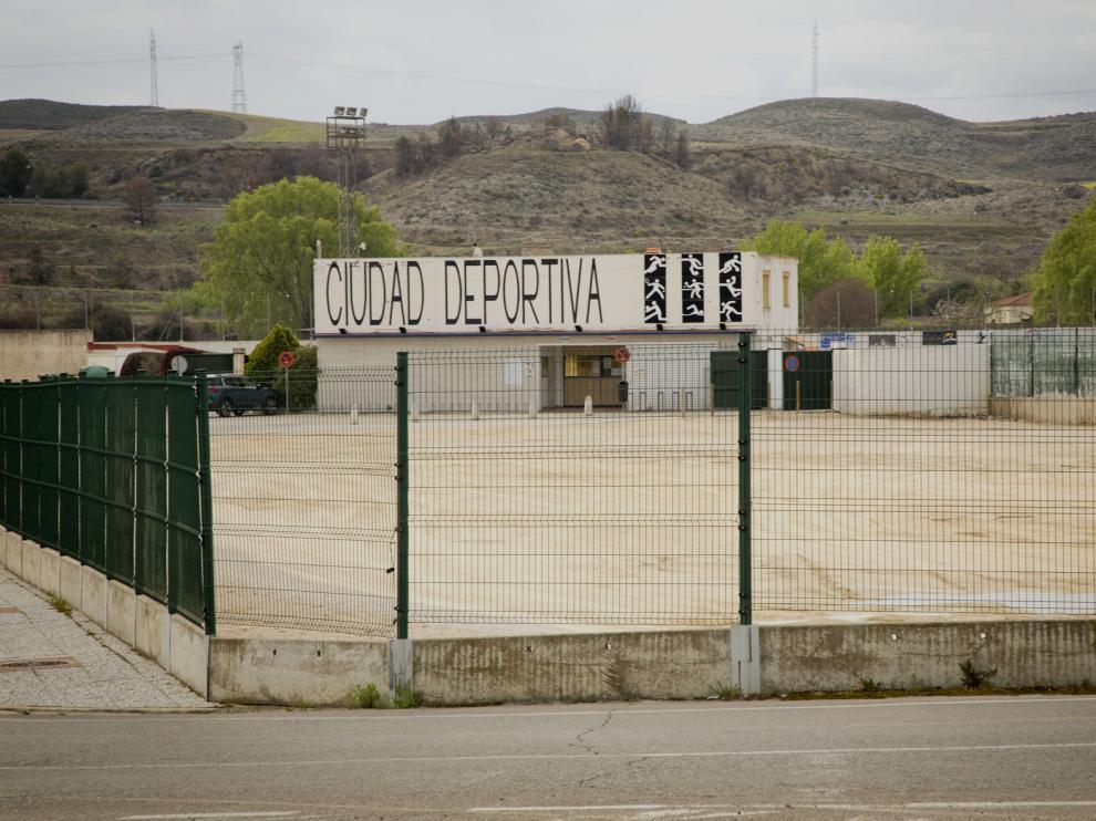 Zona de la ciudad deportiva donde irán las nuevas instalaciones
