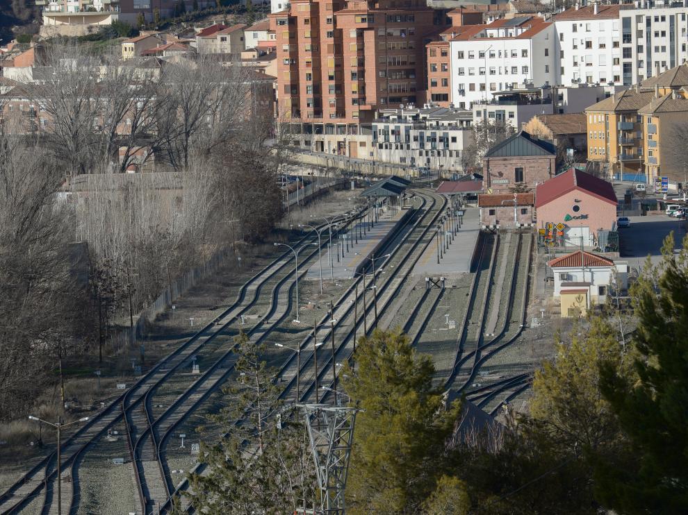 Estación de tren de Teruel.
