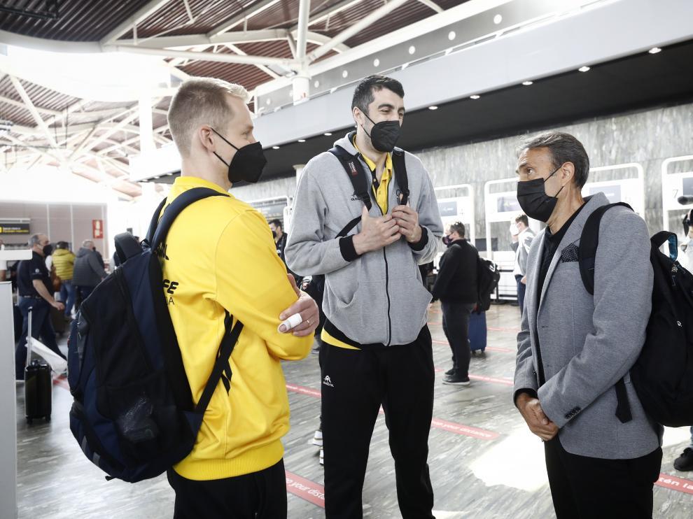 El Casademont Zaragoza parte a Rusia para disputar la Final Eight de Baloncesto