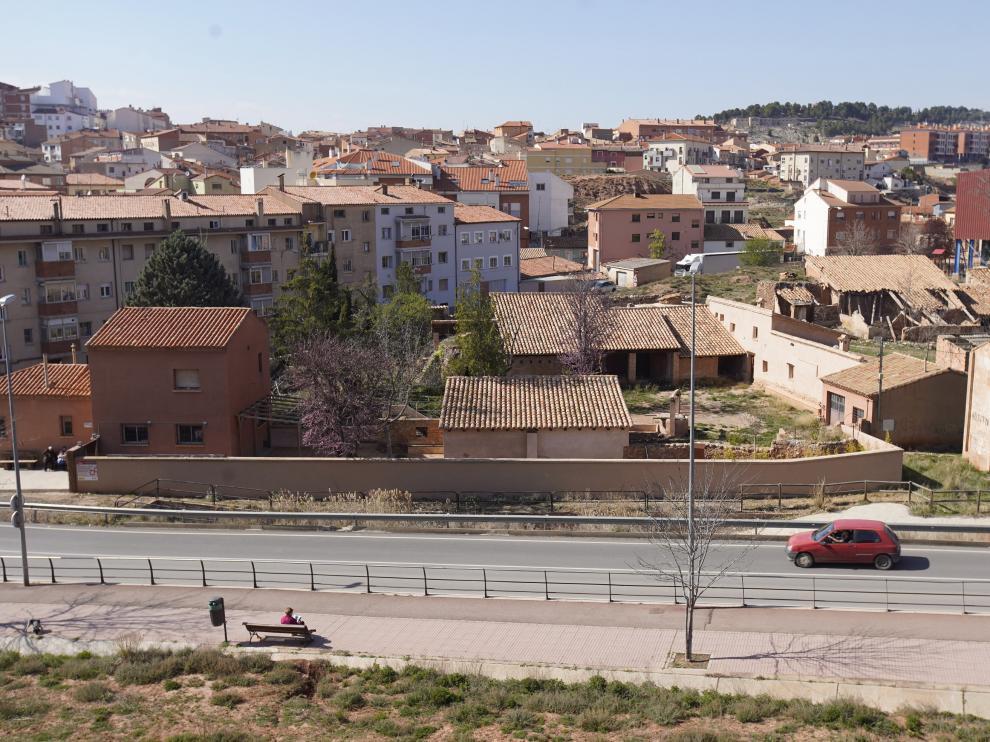 Edificio de los antiguos Alfares de los Gorri, que se quiererecuperar como museo de Alfareria.Fto Antonio Garcia/Bykofoto. 12/04/19 [[[FOTOGRAFOS]]][[[HA ARCHIVO]]]