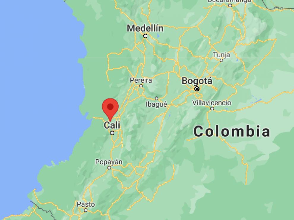 El suceso ocurrió en Restrepo, en el departamento del Valle del Cauca