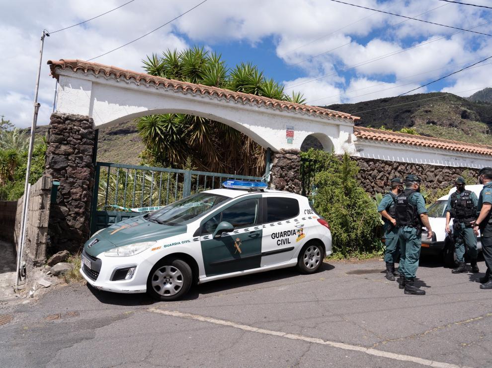 Segundo registro en casa del padre de las niñas en Tenerife