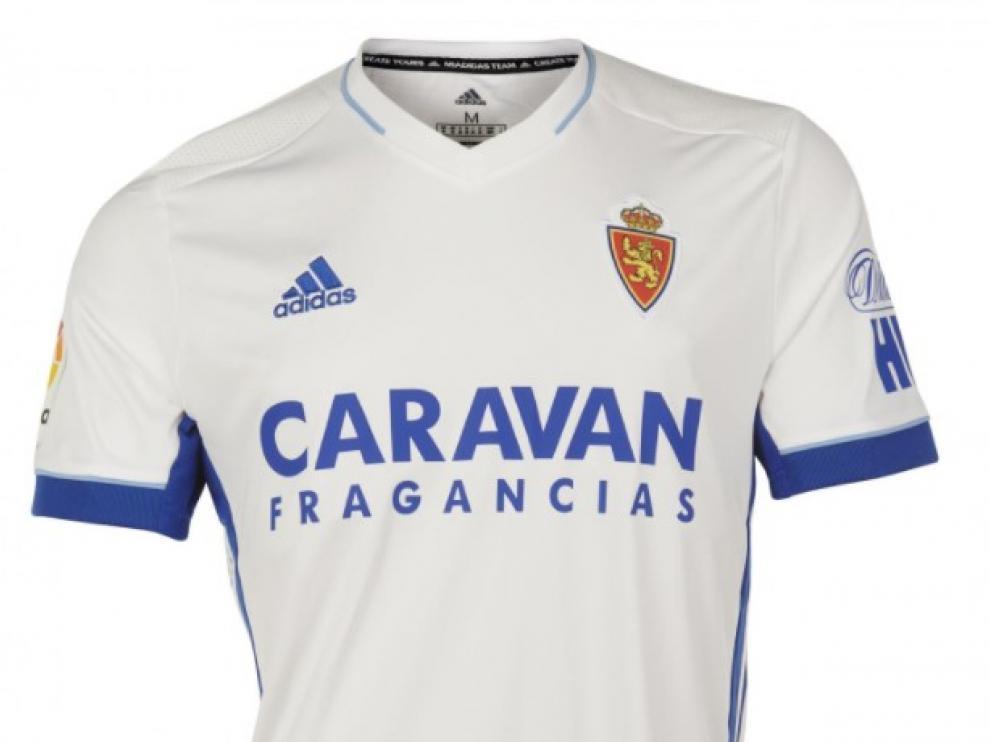 Camiseta del Real Zaragoza de la temporada 20-21.