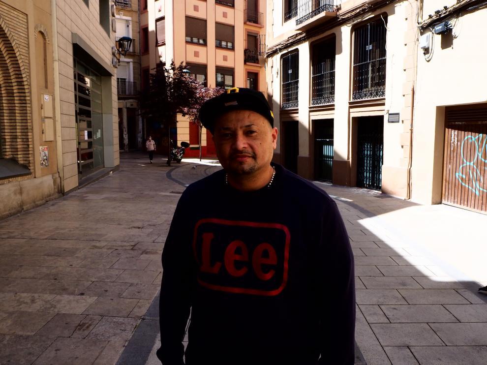 César Andrade, King Malaba, en Zaragoza.