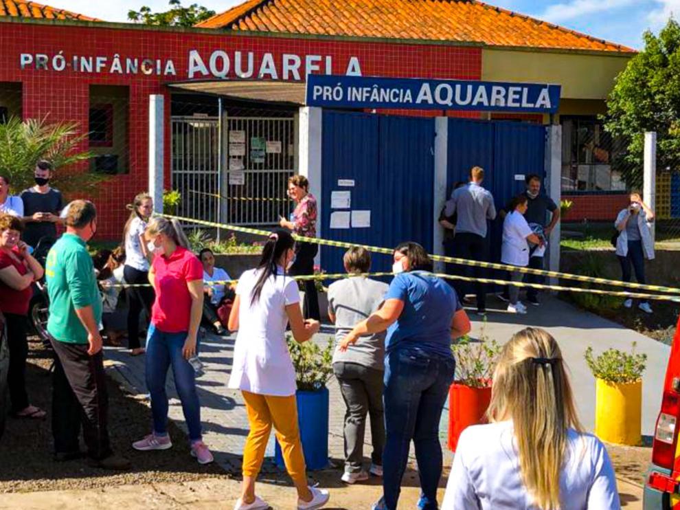 El crimen ocurrió en una guardería de la ciudad de Saudade