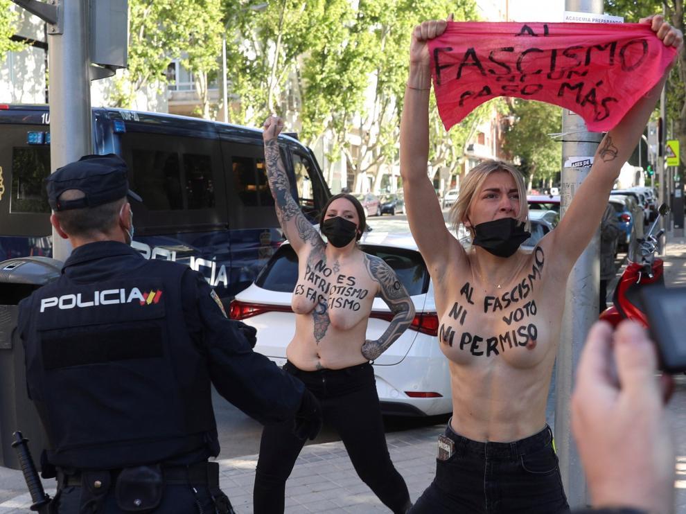 Elecciones en Madrid, en imágenes