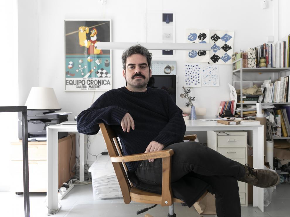 Emilio Lorente, el zaragozano que diseña los discos de Zahara.
