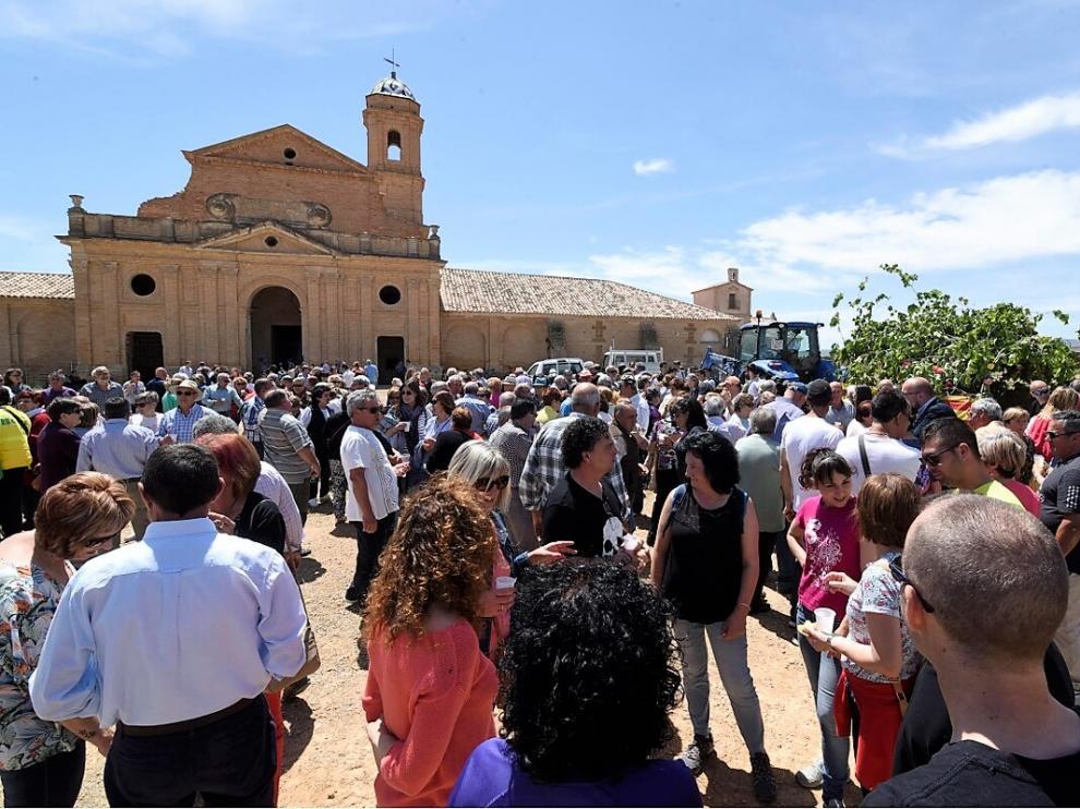 Imagen de archivo de la romería a la Cartuja de las Fuentes en mayo de 2019.
