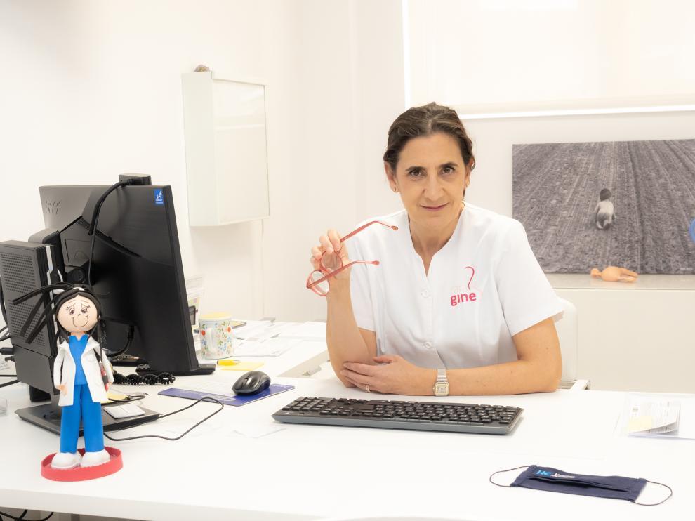 La doctora Cristina Torrijo, de la Unidad de Ginecología del hospital HC Miraflores.