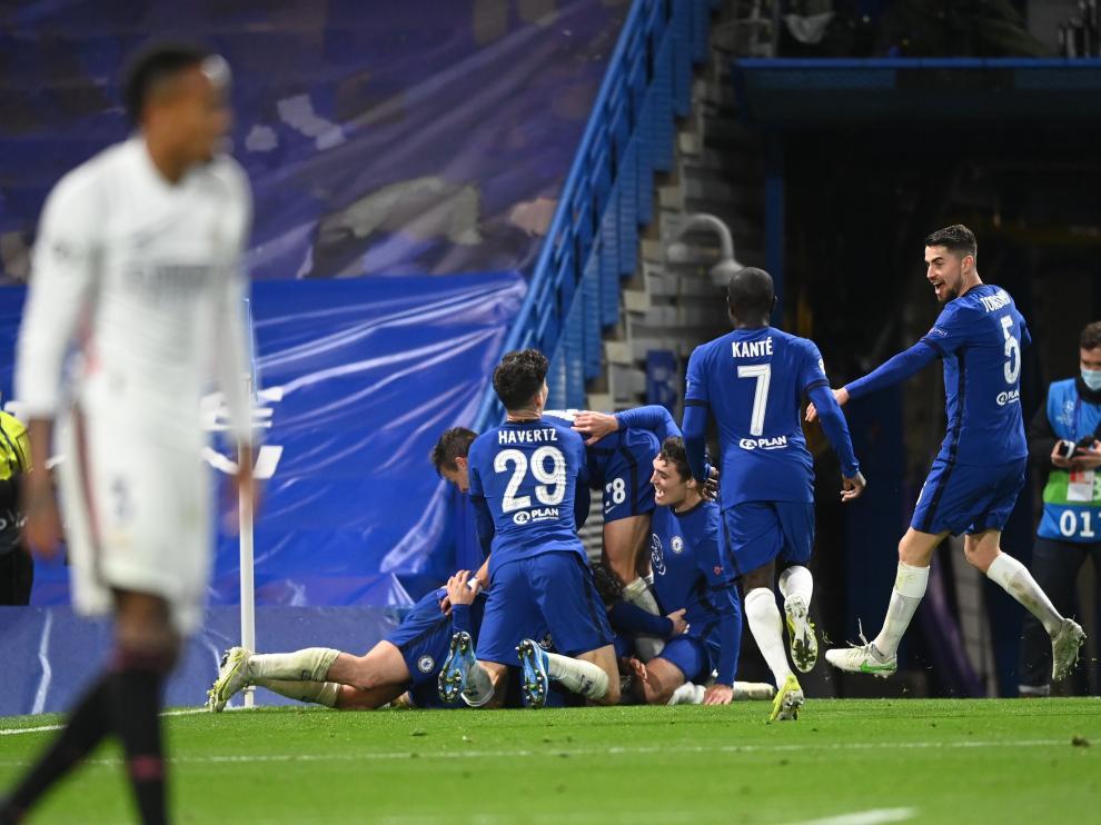Derrota del Real Madrid frente al Chelsea en las semifinales de la Champions.