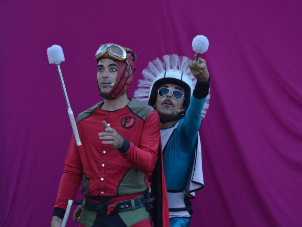 'Felpudoman y escobilla', nuevo espectáculo de Circo La Raspa.