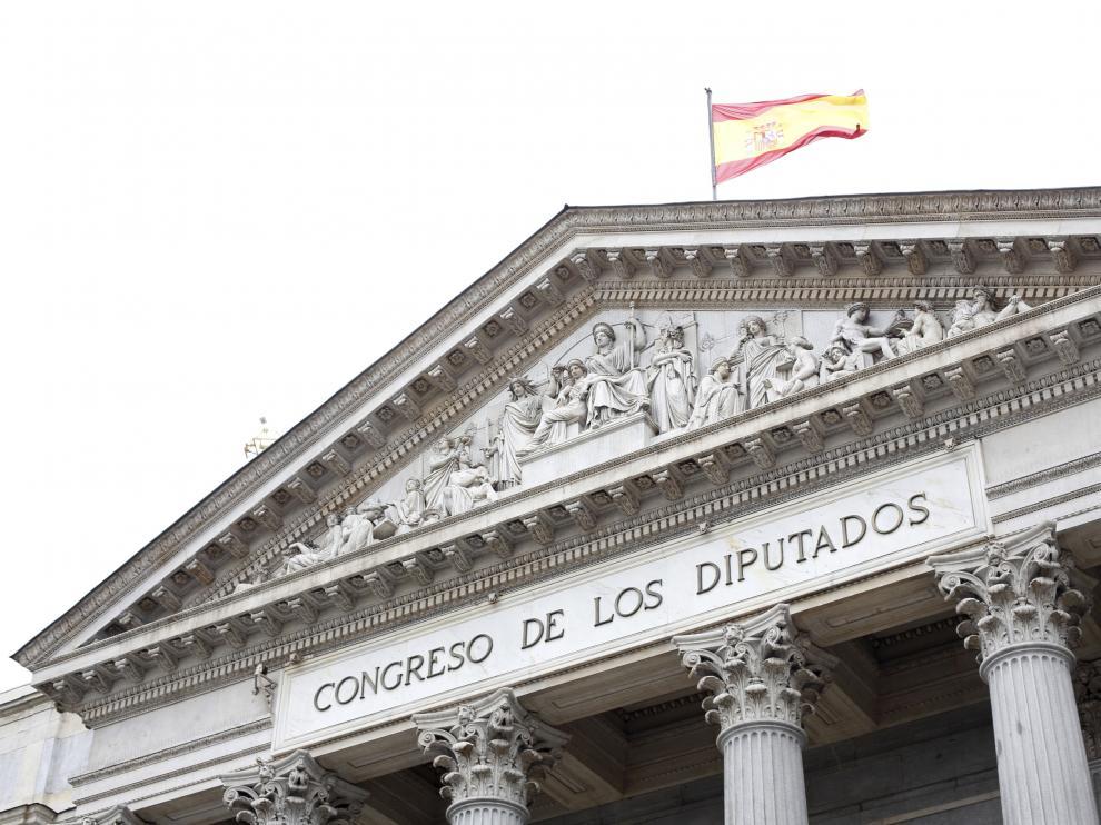 [[[HA ARCHIVO]]] Fecha: 16/01/2013 Autor: CIDONCHA, ENRIQUE descri: FACHADA DEL CONGRESO DE LOS DIPUTADOS EN MADRID. EXTERIOR. RECURSO notas: Fecha de entrada:17/01/2013