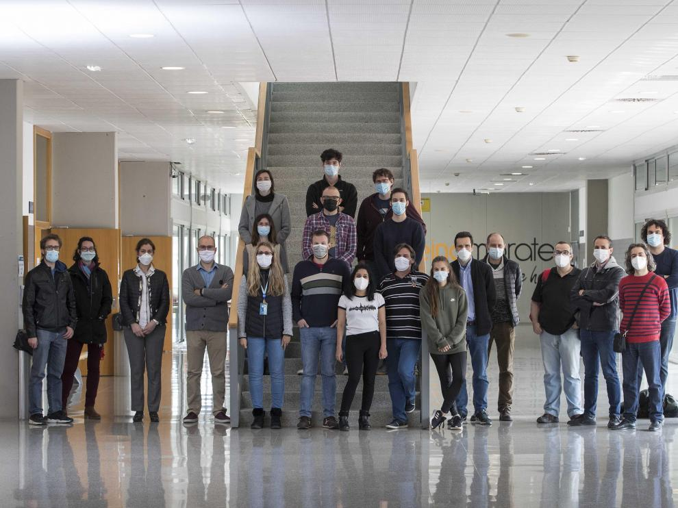 Integrantes de los grupos que aglutina el Laboratorio de Vanguardia en Inteligencia Artificial del Instituto de Investigación en Ingeniería de Aragón (I3A) de Unizar.