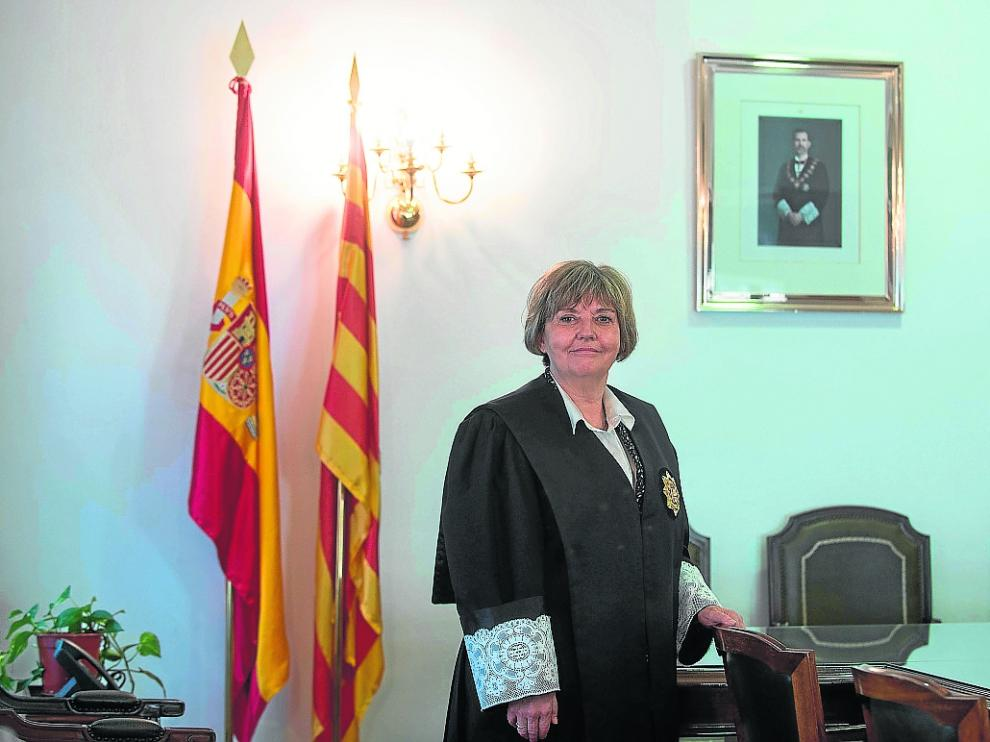MARIA ASUNCION LOSADA NUEVA FISCAL JEFE DE ARAGON EN EL TRIBUNAL SUPERIOR DE JUSTICIA DE ARAGON EN ZARAGOZA / 07-05-2021 / FOTOS: FRANCISCO JIMENEZ[[[FOTOGRAFOS]]]