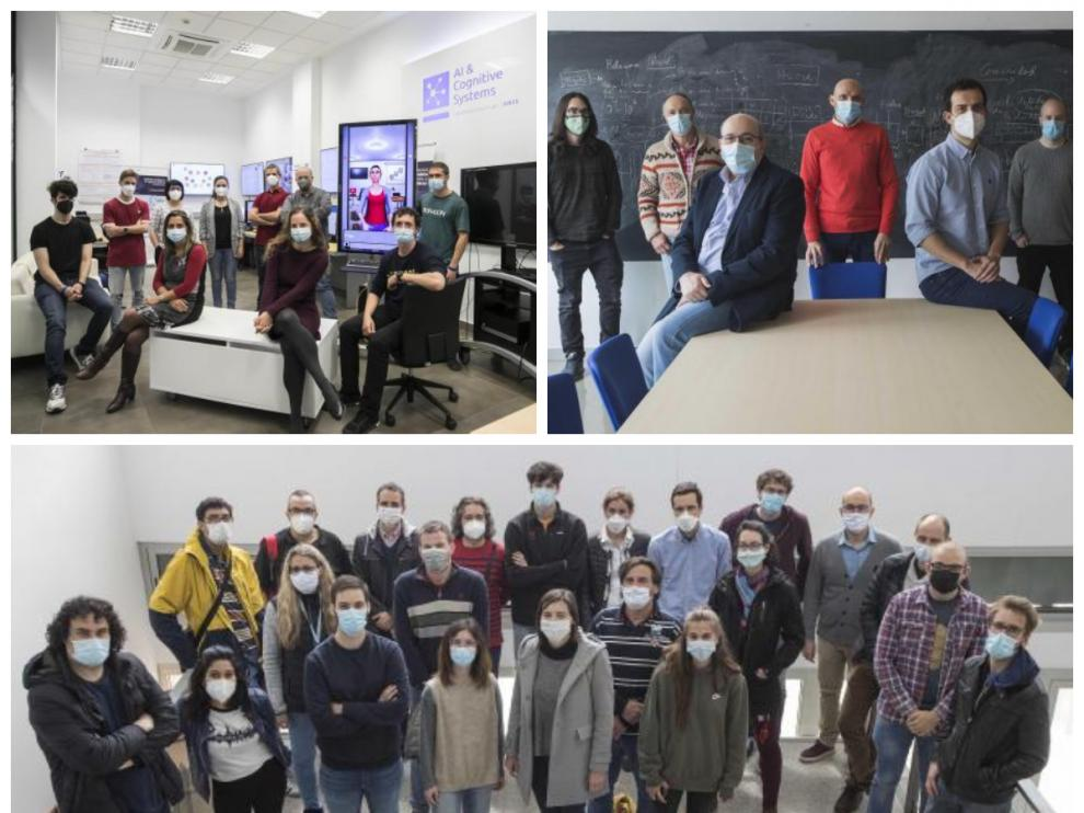 Investigadores aragoneses diseñan aplicaciones y modelos de inteligencia artificial.