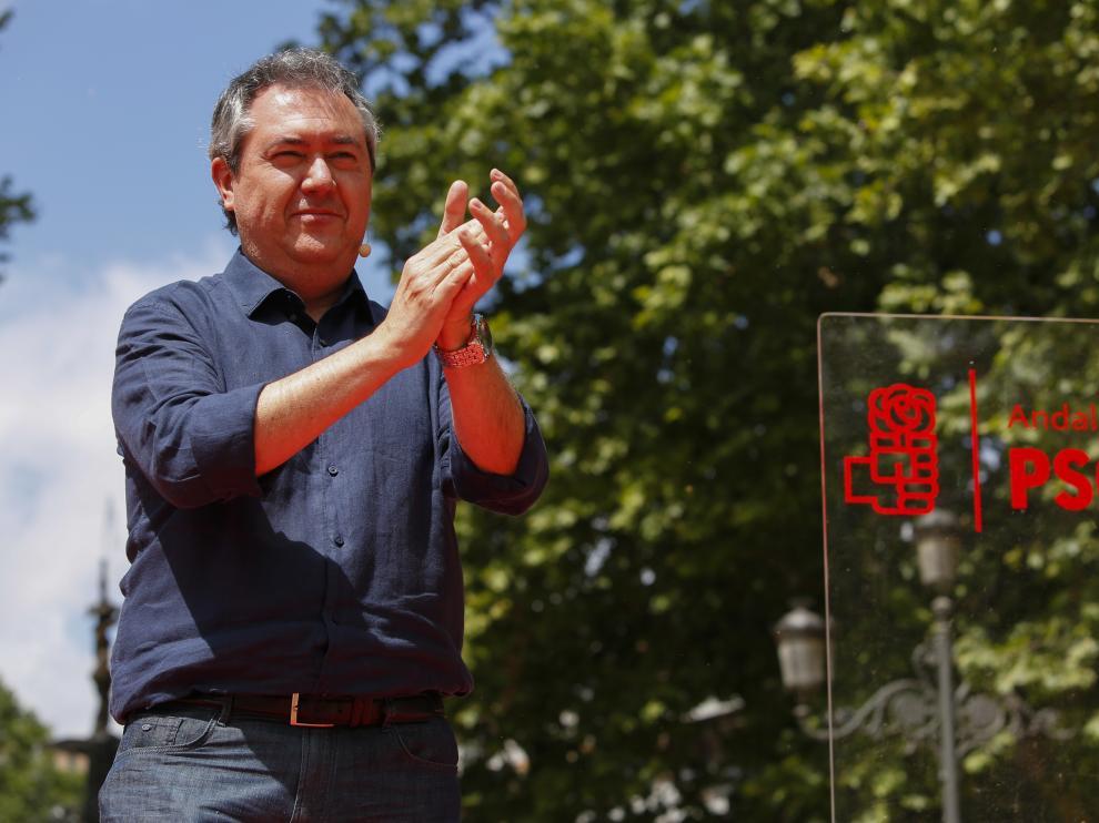 Juan Espadas presenta su candidatura para las primarias del PSOE de Andalucía.