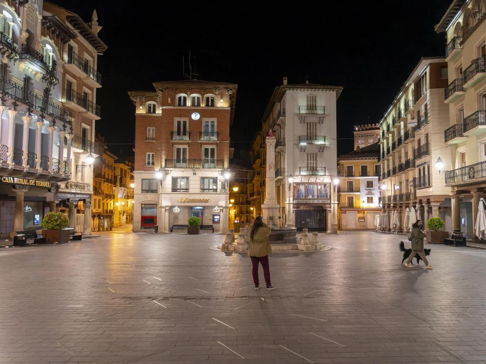 Fin del toque de queda en Teruel.