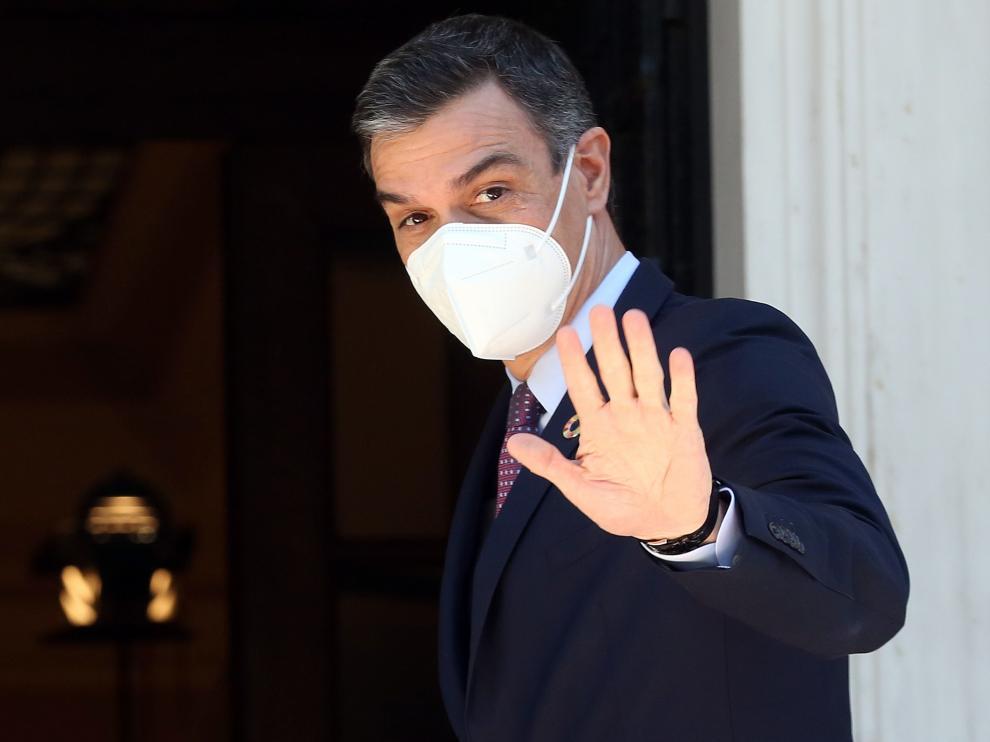 Pedro Sánchez este lunes