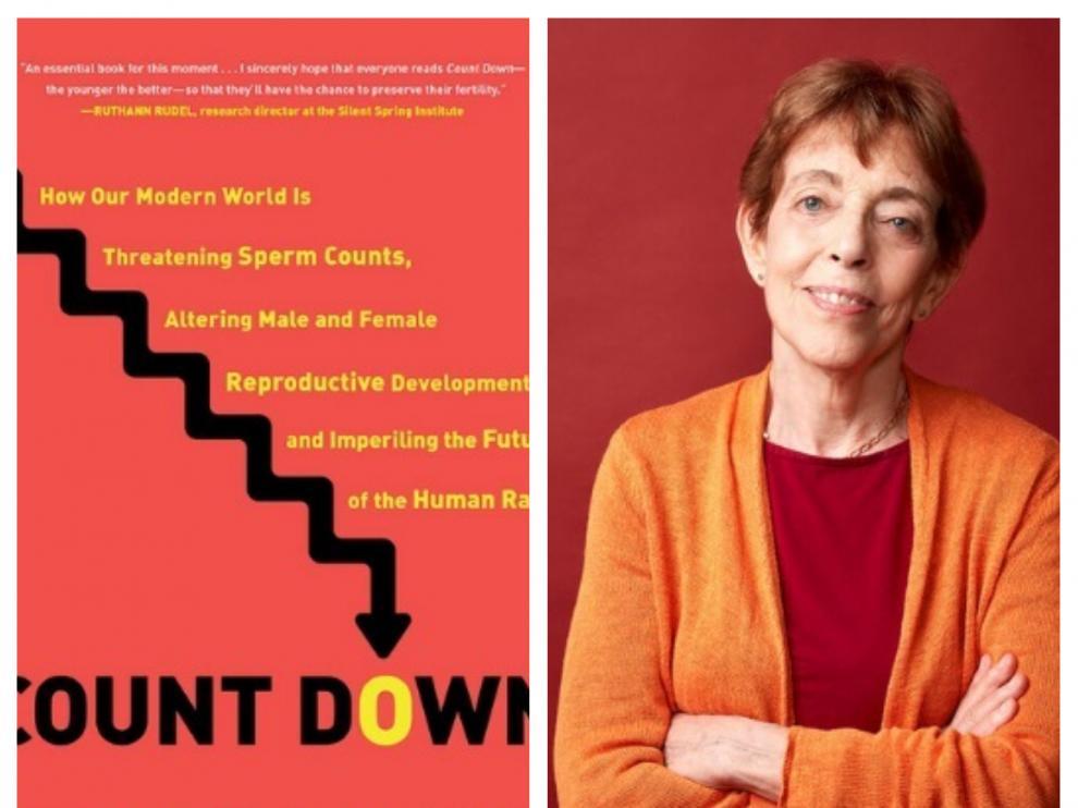 La doctora Shanna Swan y su libro, 'Count Down'