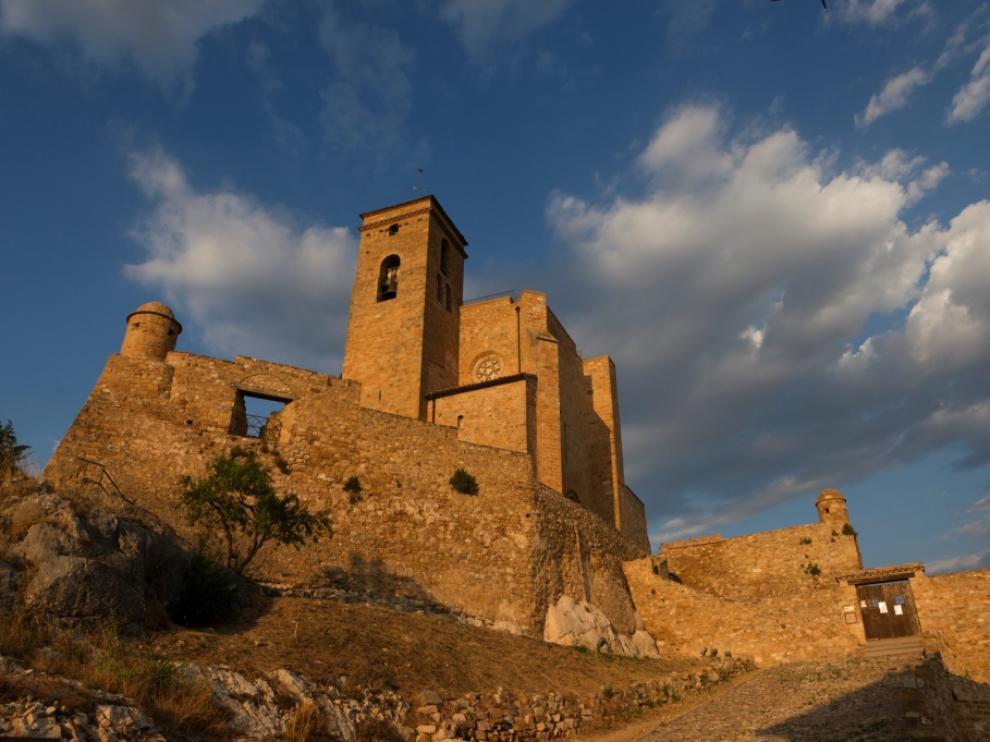 Castillo de Benabarre.