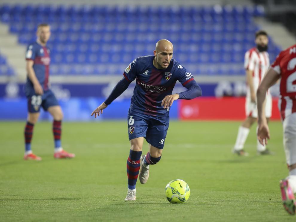 Sandro Ramírez, durante el partido ante el Athletic.