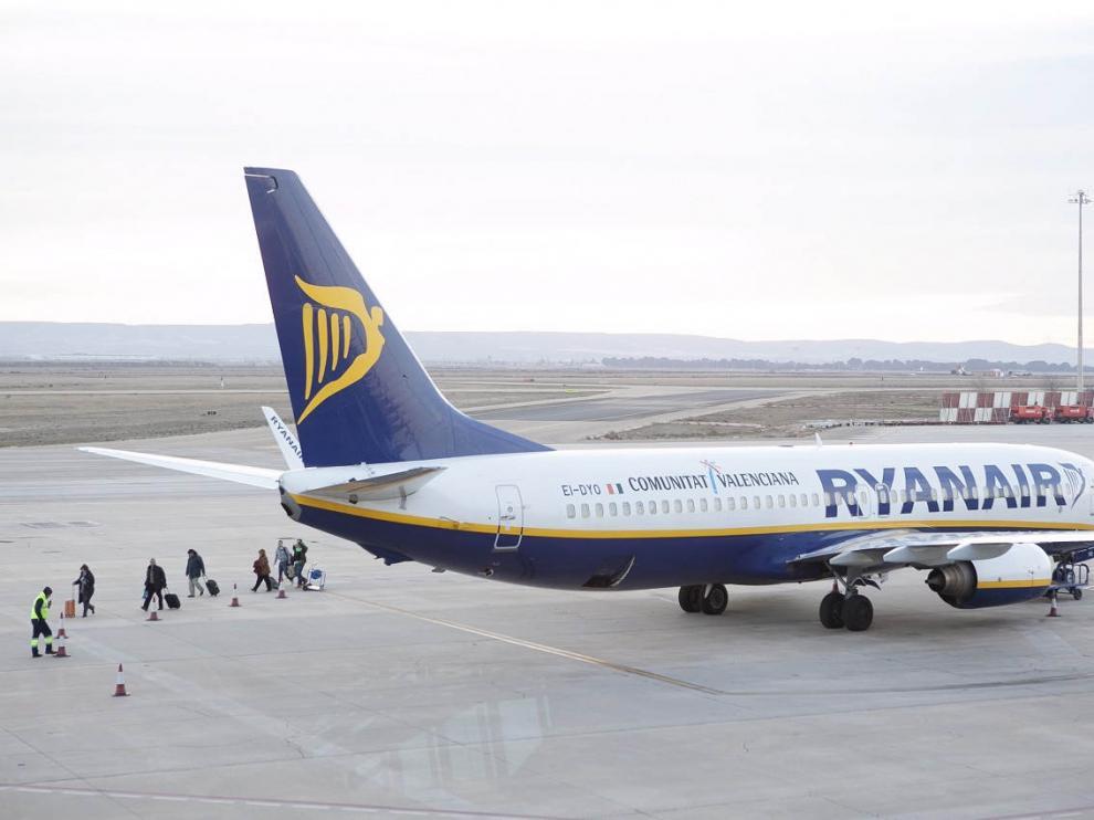 El aeropuerto de Zaragoza en una foto de archivo