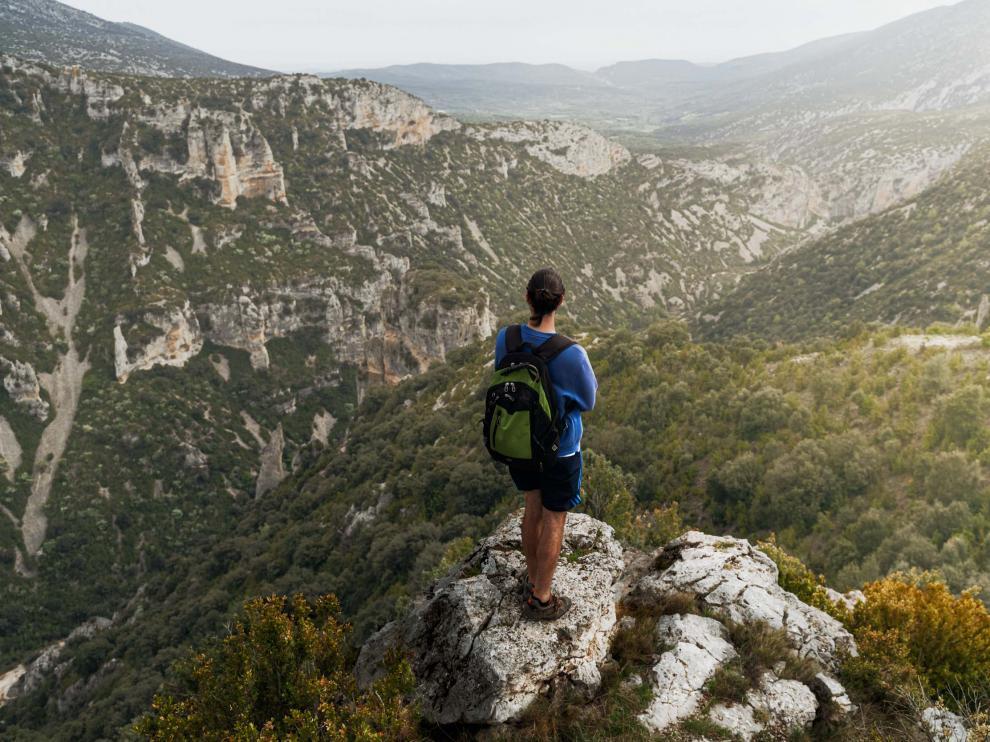 Paisaje rocoso del valle de Rodellar
