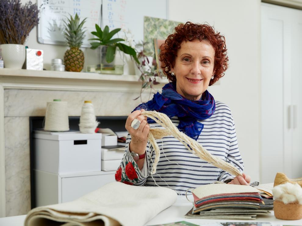 Carmen Hijosa, emprendedora del mundo textil.