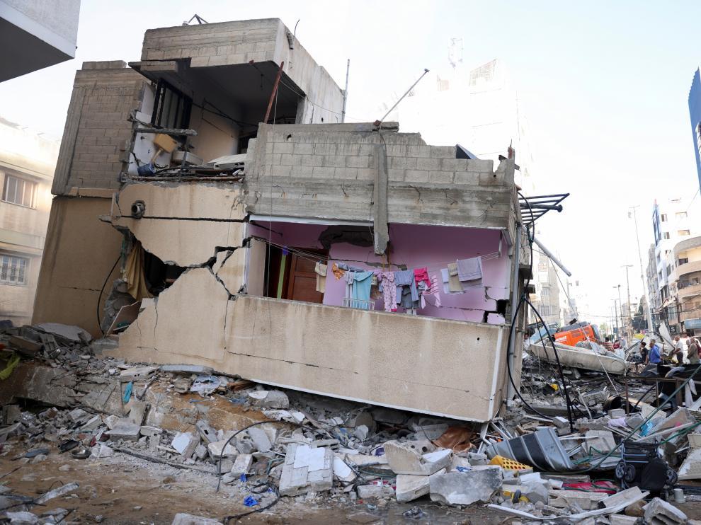 Suben a 181 los muertos en Gaza, 52 de ellos niños, tras los últimos bombardeos de Israel