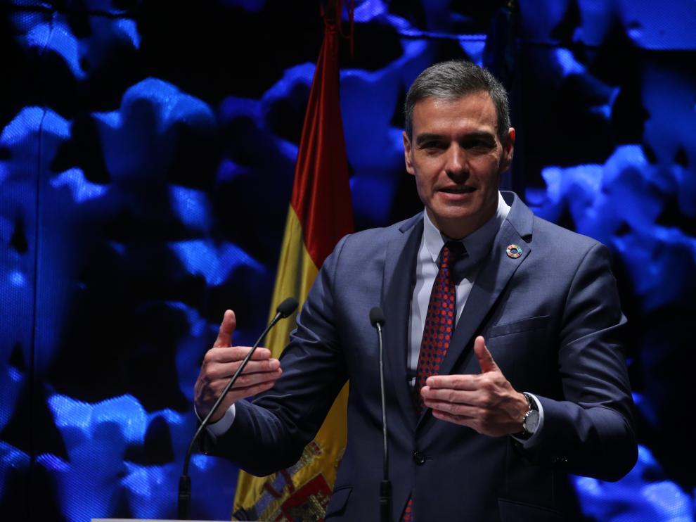 Pedro Sánchez, en la inauguración del IV Congreso Iberoamericano del Consejo Empresarial Alianza por Iberoamérica.