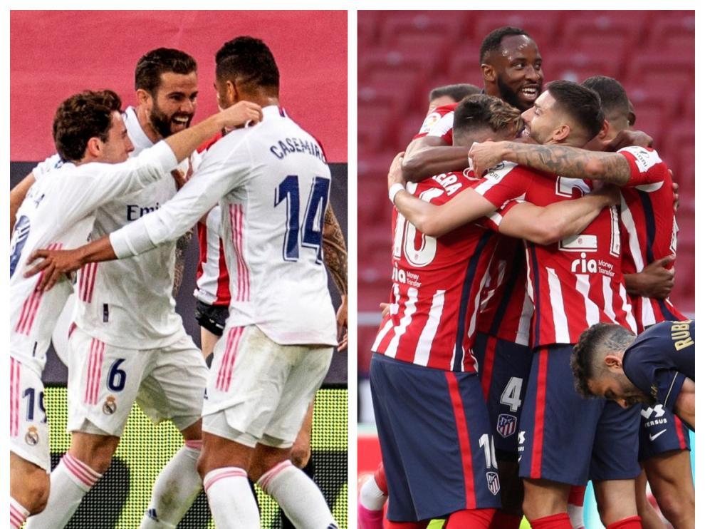 Real Madrid y Atlético de Madrid se juegan este sábado la Liga.