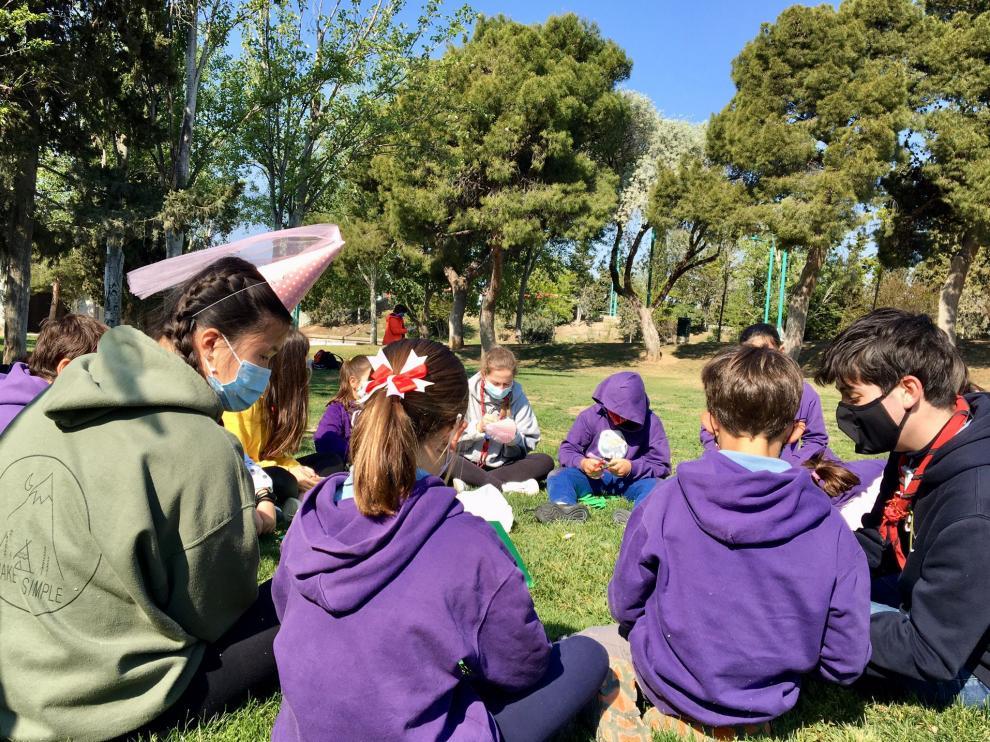 Actividades organizadas por Scouts Aragón.