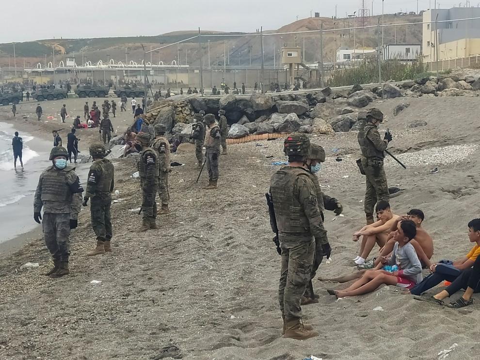 La entrada de inmigrantes en Ceuta bate los récords de inmigración en España