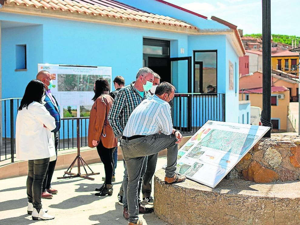 Los alcaldes conocieron el proyecto este míercoles, en Sediles.