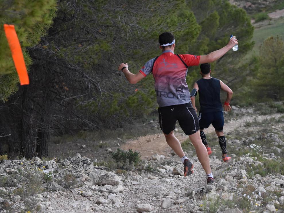 La carrera Ciudad de Teruel tiene un recorrido de 21,7 km, con un desnivel acumulado de 2.200 m.
